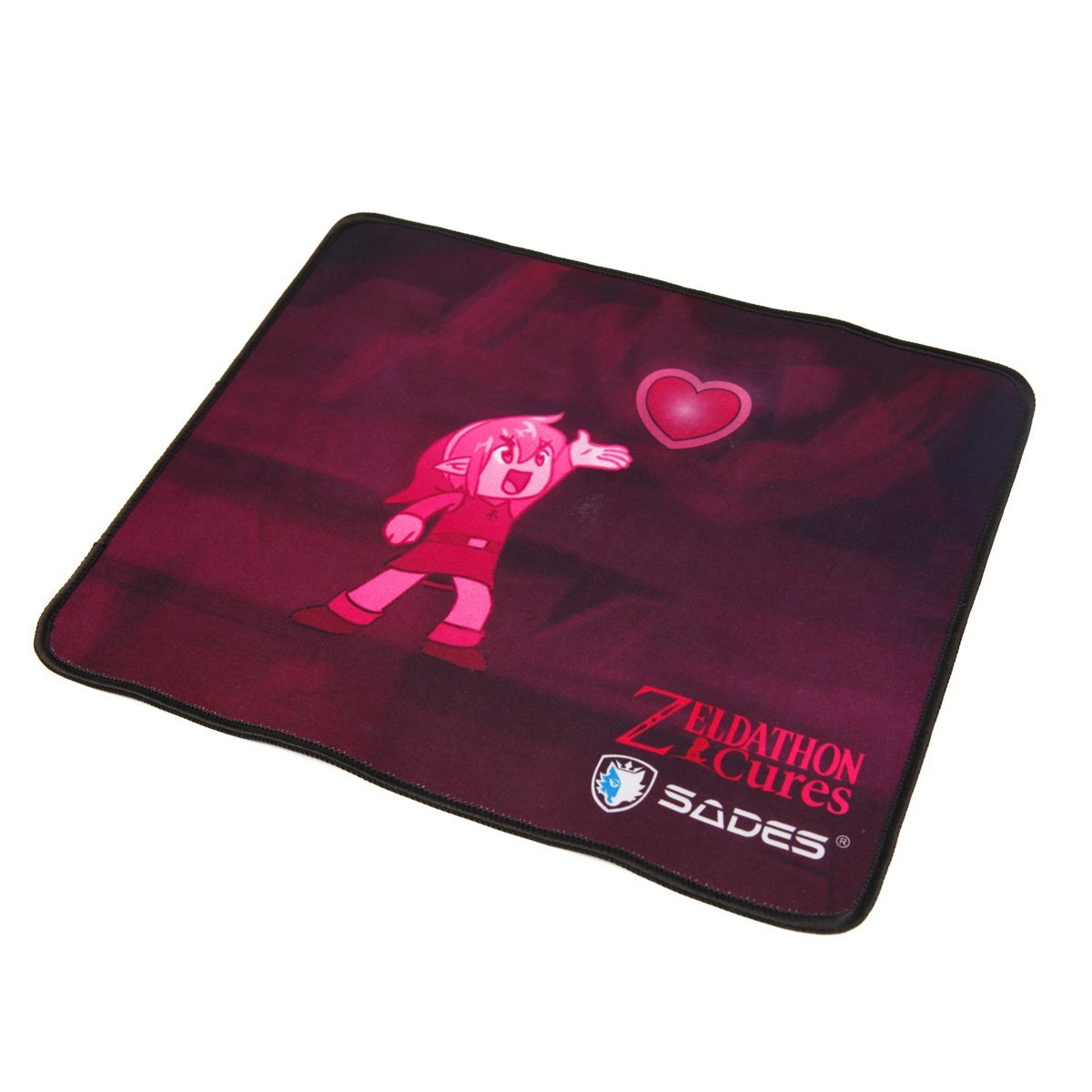 Sades Go4zelda Zeldathon Cures Gaming Mouse Pad 12x10 Knight Pro Bongiovi 71 Headset Inches Computers Accessories