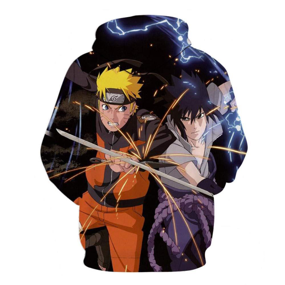 Japanese Ninja Sweatshirt New 3D Digital Print Cartoon Anime ...