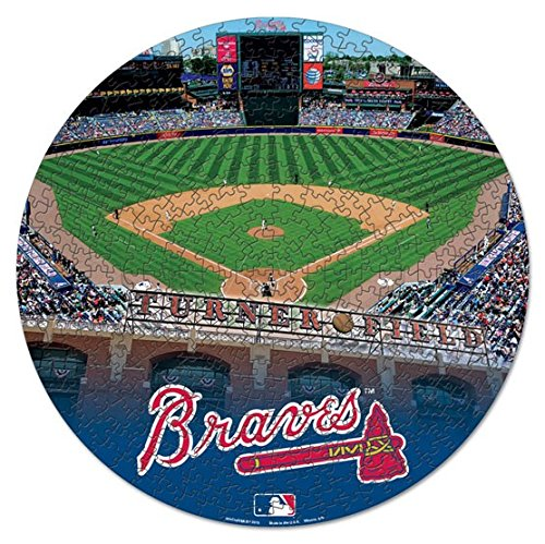 WinCraft MLB Atlanta Braves Puzzle in Box (500 Piece) ()