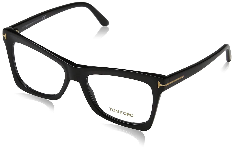 f17e69178fb Amazon.com  Tom Ford FT 5457 Matte Black 52 16 140 Women Eyewear Frame   Clothing