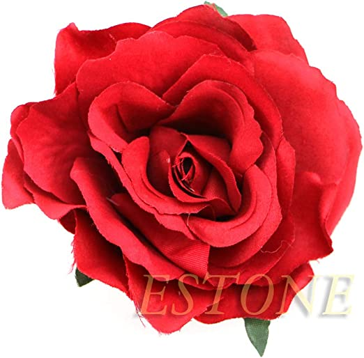 Bridal Rose Flower Hair Clip Hairpin Brooch Wedding Accessorie Bridesmaid