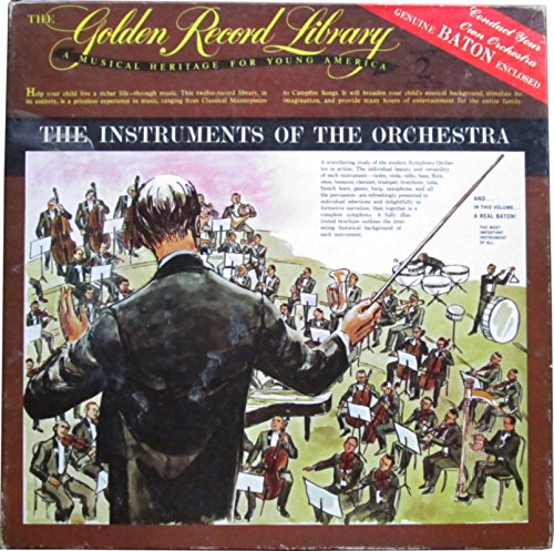 A Musical Heritage For Young America Album 2 The Instruments of The Orchestra - Golden Record Library 9901