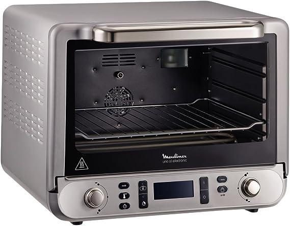 Moulinex OX678E00 - Horno (Pequeño, Horno eléctrico, 31 L, 2200 W, 1100 W, Gris): Amazon.es: Grandes electrodomésticos