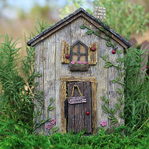 Ladybug Fairy Door for Miniature Garden, Fairy Garden ()