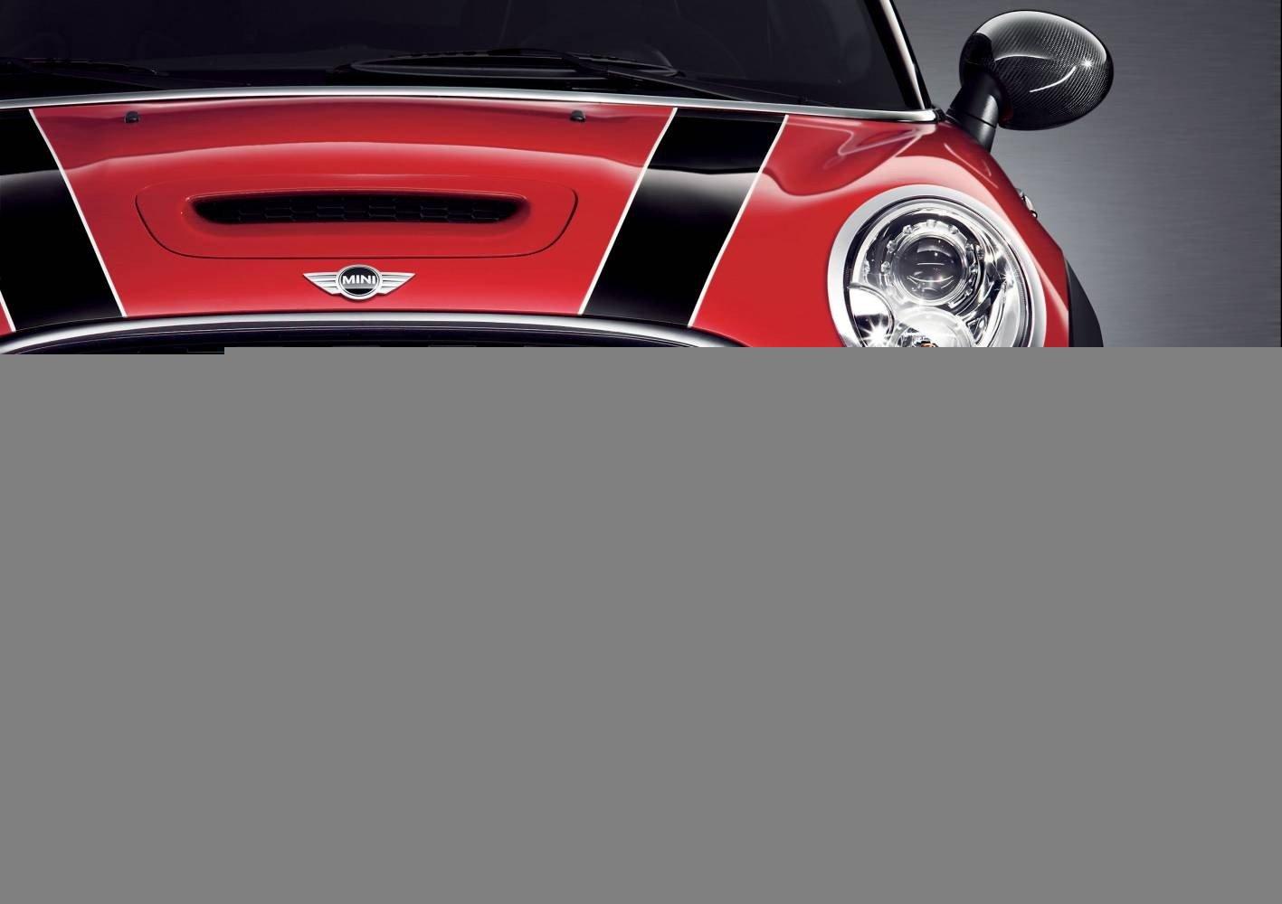 MINI Genuine JCW Front Left Bumper Extension Black R55 R56 R57 51110441461