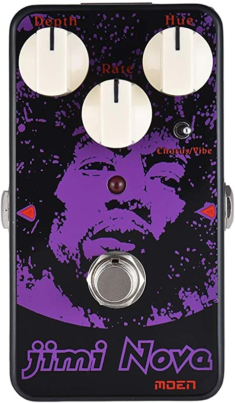 AM-VB Jimi Nova Chorus/vibración pedal de efecto de guitarra True ...