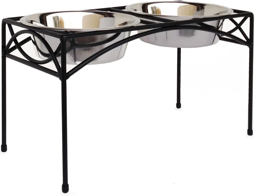 Regal Double Bowl Elevated Diner - 12