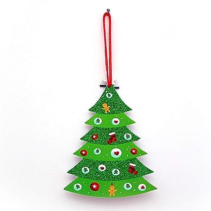 Amazon Com Hemore 1 Pc 3d Christmas Hanging Ornaments Sign