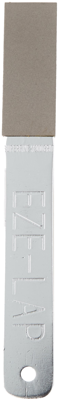 EZE-LAP LD1 Super Fine, Medium & Double Sided Silver Anodized Aluminum Handle