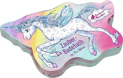 Toalla de Baño Mágica de Algodón Unicornio de la Serie Paraíso Unicornio (Aprox. 75