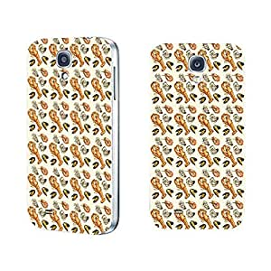 Durable Hard Plastic Cell Phone Case Cover for Samsung Galaxy S4 I9500 Unique Graphic Printing Back Phone Case Skin (lobster seashell BY640)