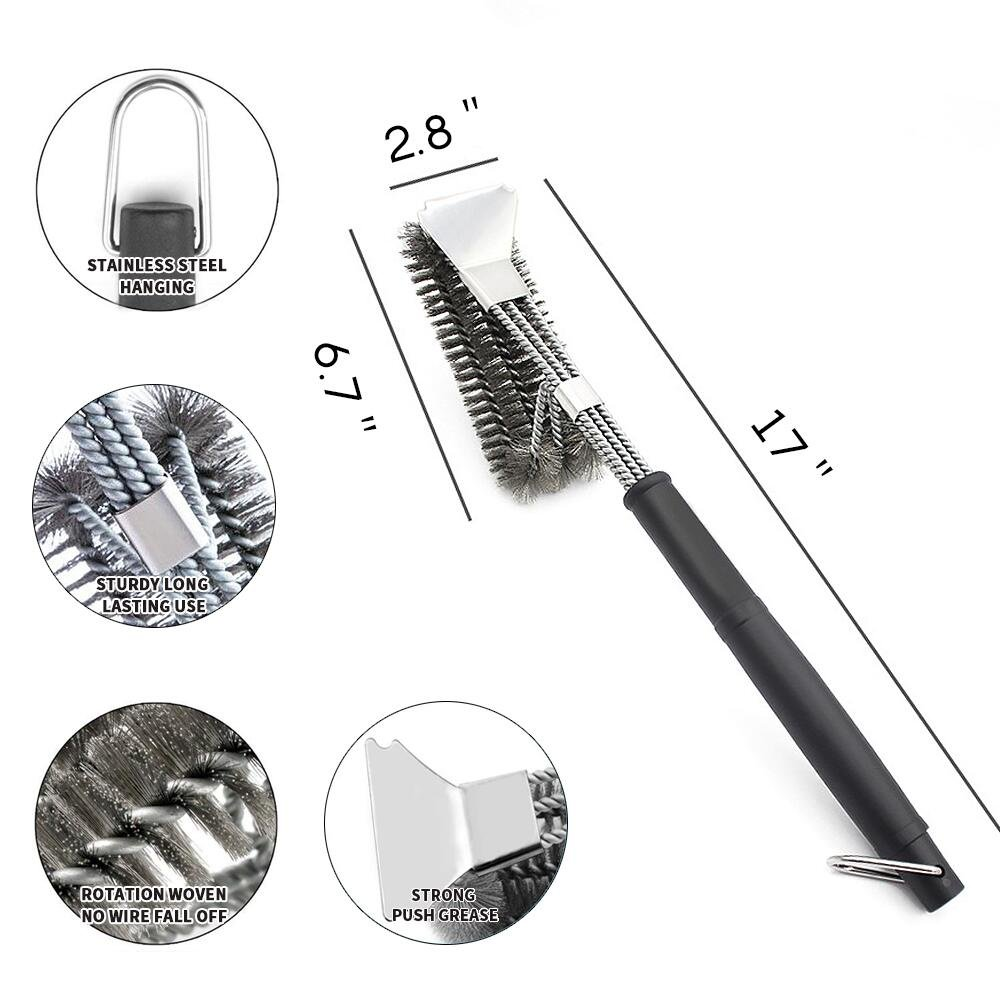 Grill Brush and Scraper - 8 in 1 BBQ Sets | 18"|1000|1000|?|8596b936019ed6cd8180371161c85f0a|False|UNLIKELY|0.3002959191799164