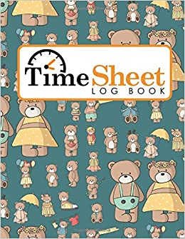 time sheet log book daily work sheet for employee time tracking