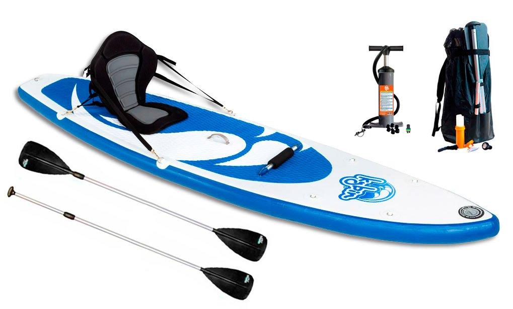 Kybin Tabla Hibrida Kayak - Stand Up 304cm: Amazon.es: Deportes y ...