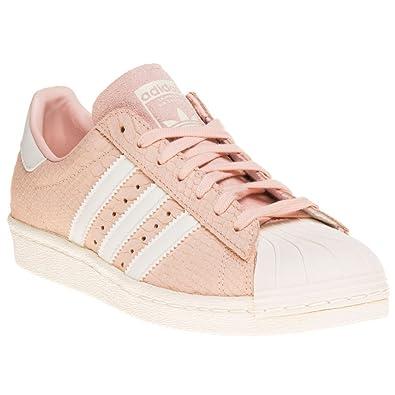 adidas superstar blancas y rosas mujer