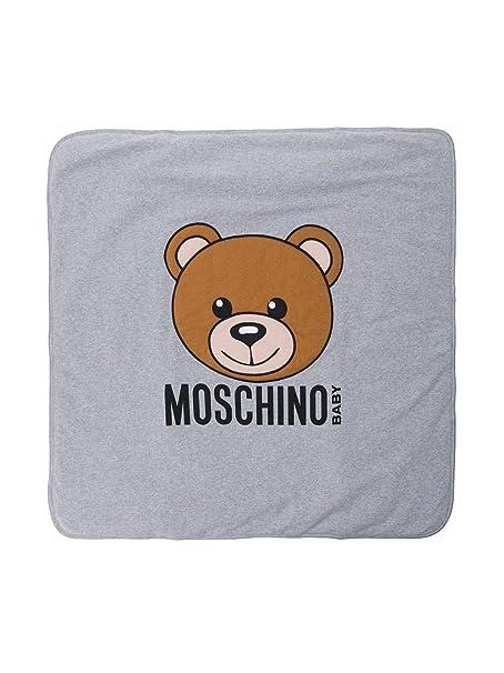 info for dc62e 13d43 Moschino Baby Copertina Grigia in Felpa MOD ...
