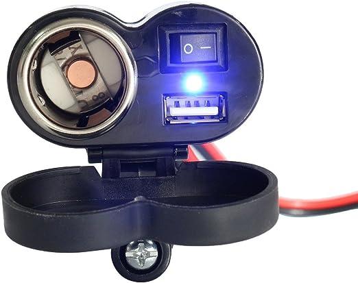 Wooya Toma De Cargador USB De Bicicleta Eléctrica De 12V-24V con ...