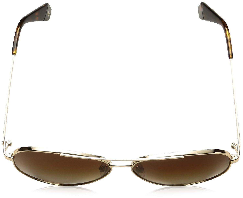 Polaroid Damen Pld 6069//S//X Sonnenbrille 61 Gold Mehrfarbig