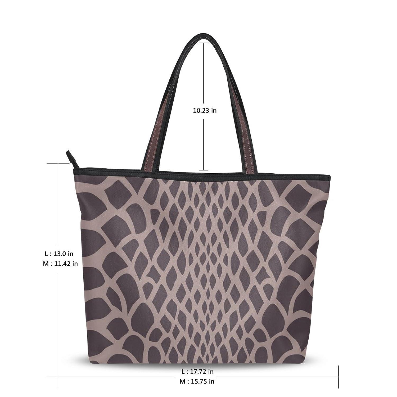 Women's New Fashion Handbag Shoulder Bags,Sexy Snake Skin Print,Tote Bag