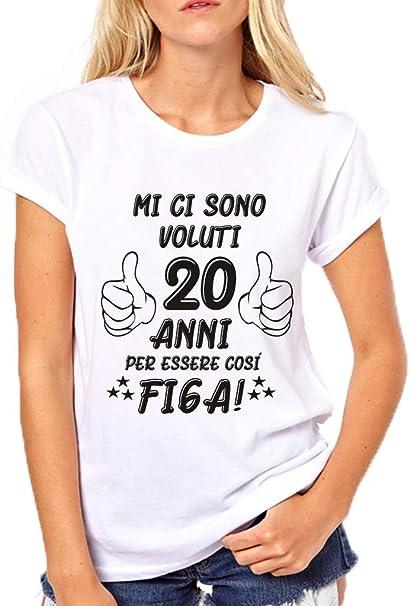 Donna 38 Anni Compleanno Ragazzo Uomo Donna Regalo Anno 1982 Maglietta con Collo a V