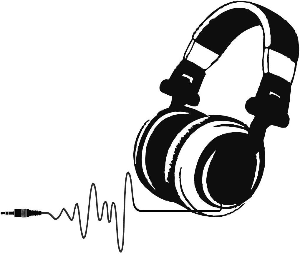 n291 Wall Decal Vinyl Sticker Mustache Glasses Pilots DJ Headphones