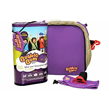 Amazon.com : Inflatable and Portable Car Booster Seat Color: Purple ...