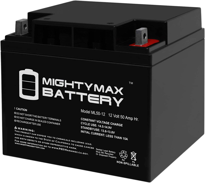 Mighty Max Battery ML50-12 -12V 50AH SLA Replaces Power Patrol SLA1161 Brand Product