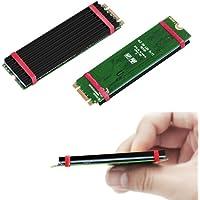 2 Pack M.2 NVMe NGFF SSD Heatsinks Laptop PC Memory Cooling Fin-Black