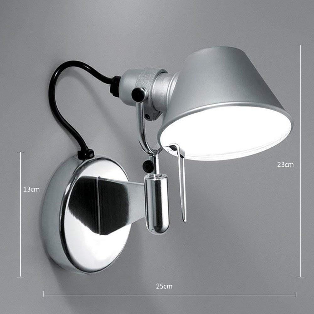PlateadaModerna Lámpara Aluminio Pa De Rojo E27 qLUVzMSpG