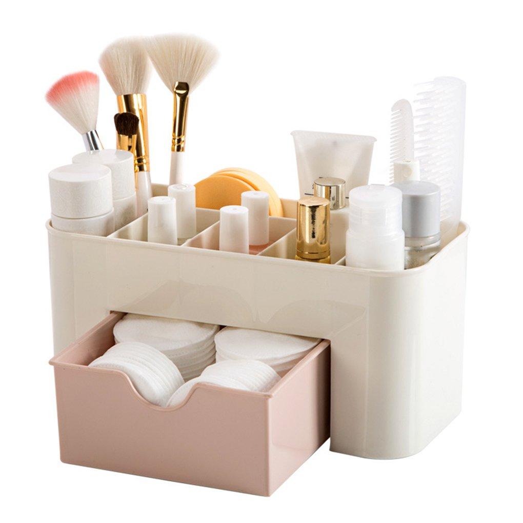 OmkuwlQ Mini Makeup Storage Box Cosmetics Case Lipstick Small Box Desktop Organizer Jewelry Container Holder