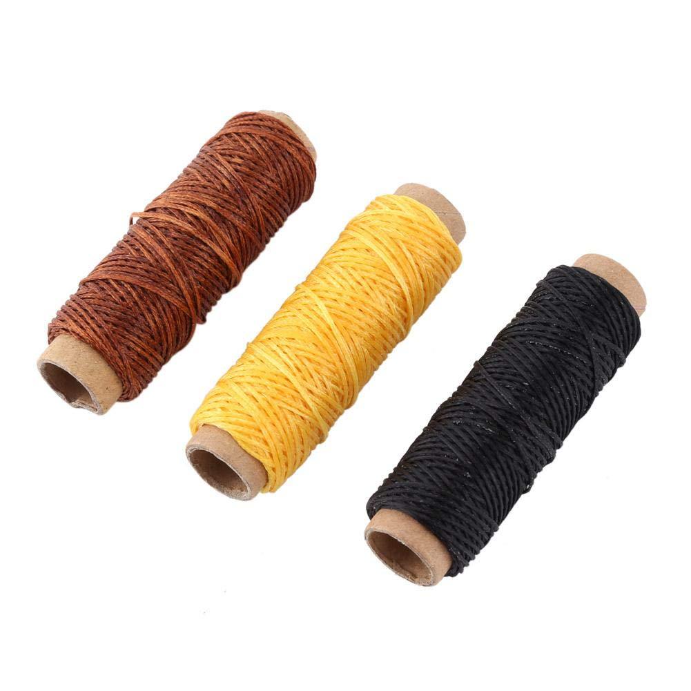 Herramienta de Costura 48 Piezas Kit de Herramientas manuales de Cuero para Coser Costuras de Hilo Tallado Trabajar