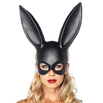 Máscara De Conejo, Personalidad De Las Muchachas Creativo Fiesta De Baile De Halloween Bar Party