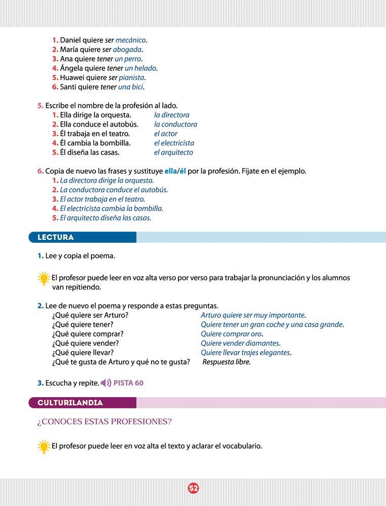 Español entre amigos 1, nivel A1. Guía del profesor: ANGEL ...