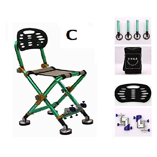 Amazon.com : ZDYYCNC Lightweight Fishing Folding Chair ...