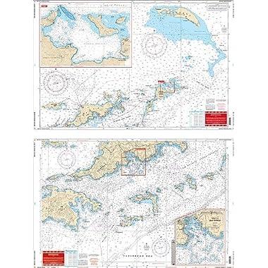 Waterproof Chart, 32B BRITISH VIRGIN ISLANDS