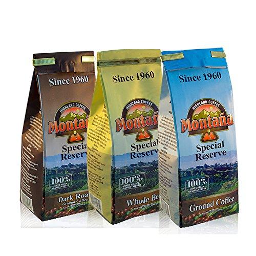 (Montaña Coffe - Special Reserve Three Pack - Costa)