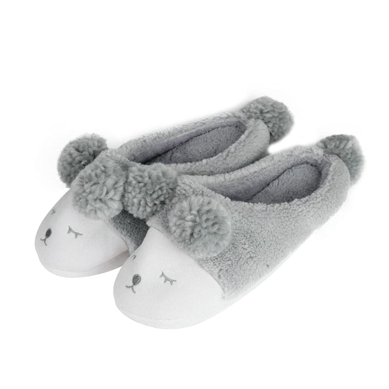 Women's Winter Boots, Egmy Plush Slipper Cartoon Creative Men And Women Slippers Winter House Shoes