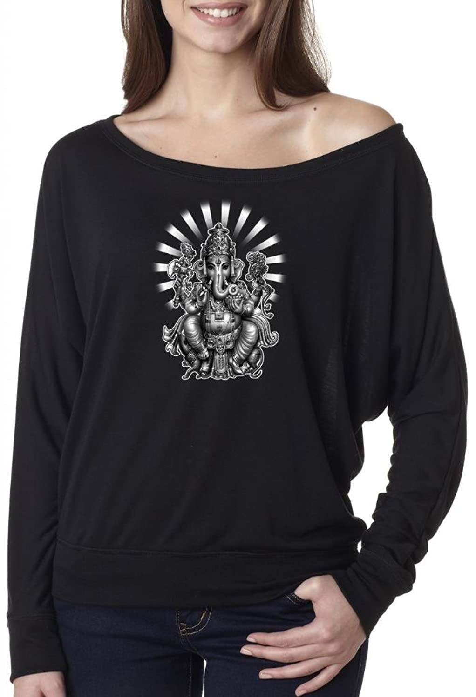 Yoga Clothing For You Ladies Ganesha Hindu Boho Tee Shirt