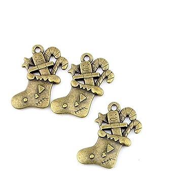 Bronce antiguo joyería Making charms conclusiones suministros al por mayor antigua Fashion Bulk bronce Retro suministro