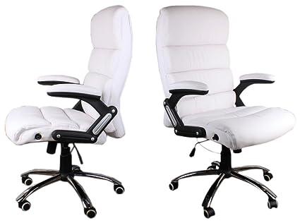 Poltrona Ufficio Bianco : Chef sedia beige poltrona direzionale sedia girevole da ufficio
