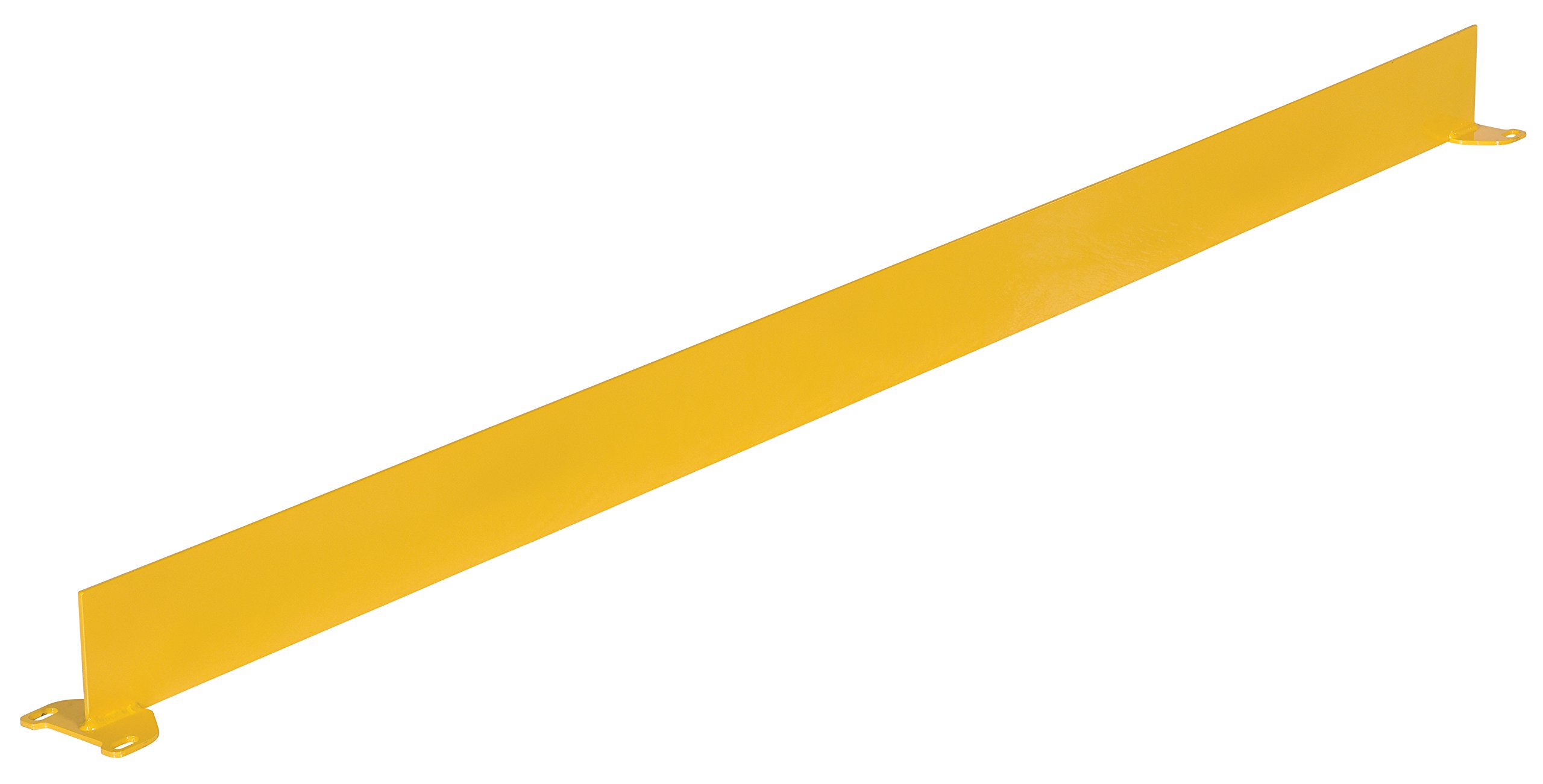 Vestil SQ-72-TB Square Safety Rigid Handrail with Toeboard, Steel, 72'' Usable Length, 41-5/8'' x 4'' x 74-1/2''