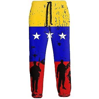 NA Venezuela Bandera Soldados Veteranos Pantalones de chándal ...