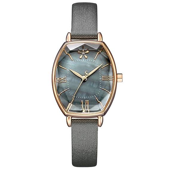 Reloj de mujer moda Trend Retro Square reloj de mujer resistente al agua