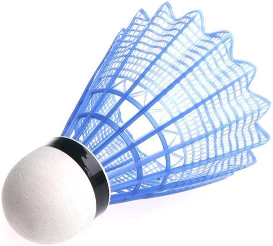 Bolas de b/ádminton de pl/ástico con luces LED 3 unidades Kcnsieou