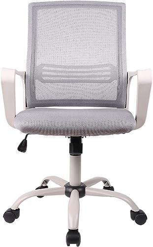 SMUGDESK Ergonomic Swivel Task Computer Desk Home Office Chair