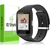 Sony Smartwatch 3 Screen Protector, IQ Shield LiQuidSkin (6-Pack) Full Coverage Screen Protector for Sony Smartwatch 3 HD Clear Anti-Bubble Film - with