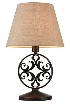 À Classique Lampe PoserDe TableChevetStyle OP0wknN8XZ