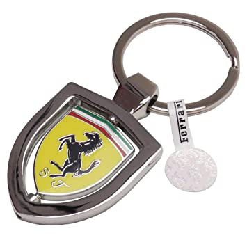 Amazon.com: Authentic Ferrari clave Cadena con diseño de ...