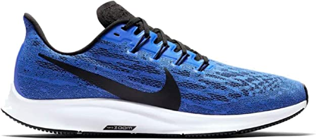 Nike Air Zoom Pegasus 36 Men's Running Shoe Racer Blue/Black-White Size 7.5