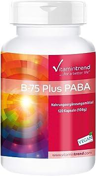 Vitamina B Complex – Complejo de vitamina B B–75 con PABA ...